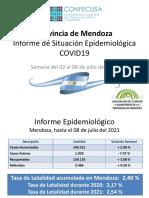 Informe de Situación Epidemiologica de Mendoza
