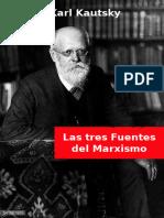 Tres Fuentes Del Marxismo Kautsky