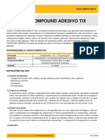 VEDACIT COMPOUND ADESIVO TIX