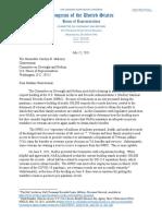 House Oversight VA Benefits Letter