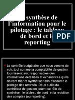 Tableau de Bord-Reporting