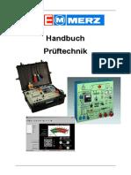 Merz Prüftafel-Handbuch