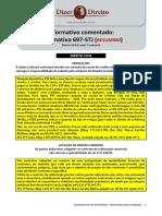 DoD. Informativo 697 STJ