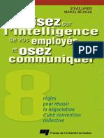 Misez Sur l'Intelligence de Vos Employés Et Osez Communiquer 8 Règles