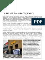 Despidos Sabeco Simply[1]