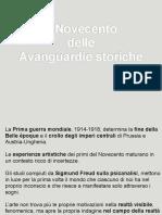 4_Novecento_AvanguardieStoriche
