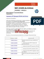 Toner original para Impresora HP DESIGNJET Z3200 610mm