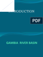 INTRODUCTION TO GAMBIA RIVER BASIN