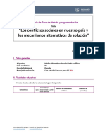 RUBRICA FORO DEBATE Y ARGUMENTACION (1)