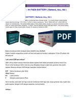 16-4 Arti Kode DZM – Hr Pada Battery ( Batterai, Acu, Aki )