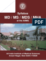 Syllabus - md ms mds mha