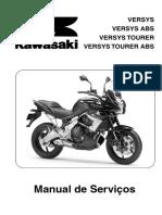 Manual de Serviço - Versys 2011 - Português
