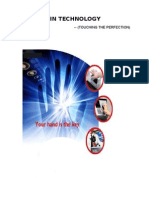 PALM VEIN TECHNOLOGY - complete need 2 add page nos