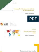 Semana 13 - Selección y evaluación de paises