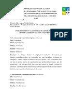 POSICIONAMENTO TAXONOMICO (NOTURNO)