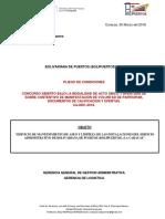 SERVICIO DE MANTENIMIENTO DE ASEO Y LIMPIEZA DE LAS INSTALACIONES DEL EDIFICIO