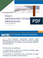 Tema 7. Amortización y fondos de amortización