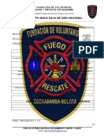 HOJA DE FILIACION