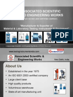 Associated Scientific and Engineering Works Delhi India
