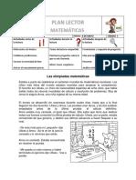 PLAN LECTOR MATEMÁTICAS 3°