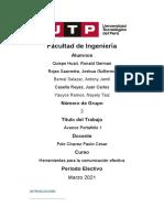 Herramientas - Portafolio 01