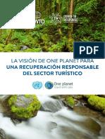 Visión de One Planet para un Turismo Responsable