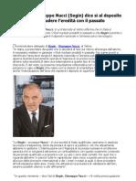 Nucleare, Giuseppe Nucci (Sogin) dice sì al deposito per chiudere l'eredità con il passato