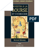 Investir a La Bourse Et s'Enrichir - Bernard Mooney