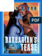 Ice Planet Barbarians 20 - Barbarian's Tease - Ruby Dixon