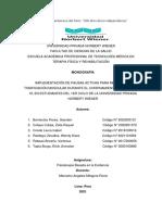 Monografía - Implementación de Pausas Activas Para Mejorar La Tonificación Muscular - Grupo 3