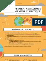 Réchauffement climatique vs changement climatique by Slidesgo