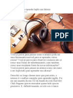 5 princípios para aprender ingles com musica