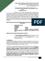 Modelo Demanda Reposicion Trabajador Cas Conforme Ley 31131 - Autor José María Pacori Cari