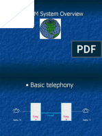 GSM System overview