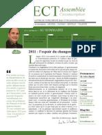 Lettre du député du Val de Marne Jean-Yves le Bouillonnec Janvier 2011