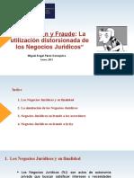 Simulación y Fraude del Acto Juridico - Miguel Ángel Pérez C - 21.01.2021