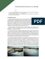 1997-5 Cubiertas de Rapido Montaje Para Piscinas Al Aire Libre