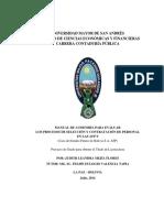 Contrataciones para AFP's