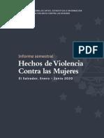 Informe Semestral - Hechos de Violencia Contra las Mujeres 2020 final