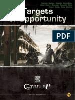 L'Appel de Cthulhu 6 - Delta Green - Targets of Opportunity