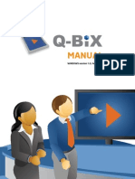 Q-Bix - MANUAL WINDOWS version 1.0, February 2011