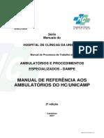 MANUAL HOSPITAL DE CLINICAS UNICAMP