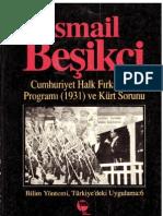 İsmail Beşikçi - Cumhuriyet Halk Fırkası Programı ve Kürt Sorunu