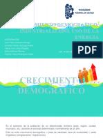 5.1 CRECIMIENTO DEMOGRAFICO, INDUSTRALIZACIÓN Y USO DE LA ENERGÍA