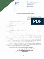 RESOLUÇÃO nº 094..2020 - Altera a Resolução nº 074 (2)