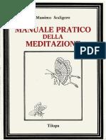 Manuale Pratico Della Meditazione Massimo Scaligero