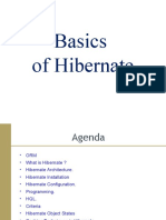 Basics of Hibernate