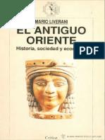 Mario Liverani - El Antiguo Oriente Historia, Sociedad y Economia