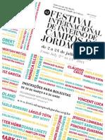 Edital 41º Festival Internacinal de Campos do Jordão
