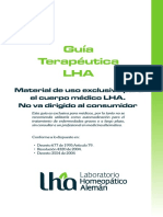 Guía Terapéutica LHA Línea Humana